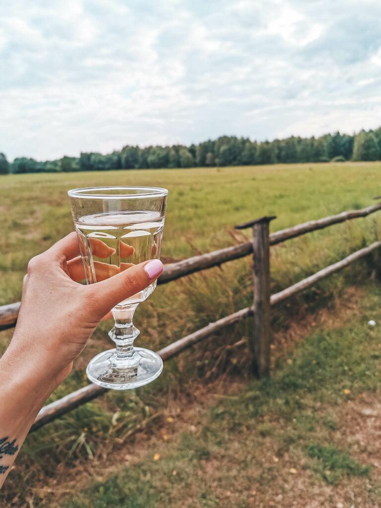 Mazury, relax i wino